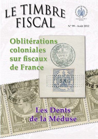 Bulletin Le Timbre Fiscal n°99 Image 1