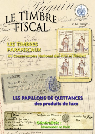 Bulletin Le Timbre Fiscal n°105 Image 1