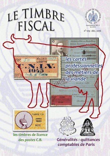 Bulletin Le Timbre Fiscal n°109
