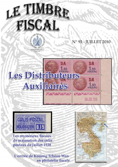 Bulletin Le Timbre Fiscal n°93 Image 1