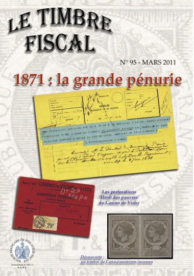 Bulletin Le Timbre Fiscal n°95 Image 1