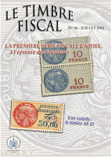 Bulletin Le Timbre Fiscal n°96