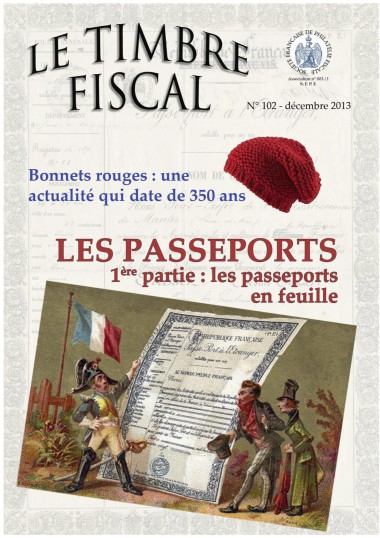 Bulletin Le Timbre Fiscal N°102 Image 1