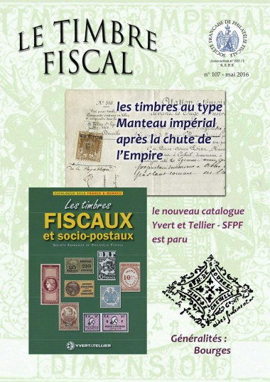Bulletin Le Timbre Fiscal n°107 Image 1