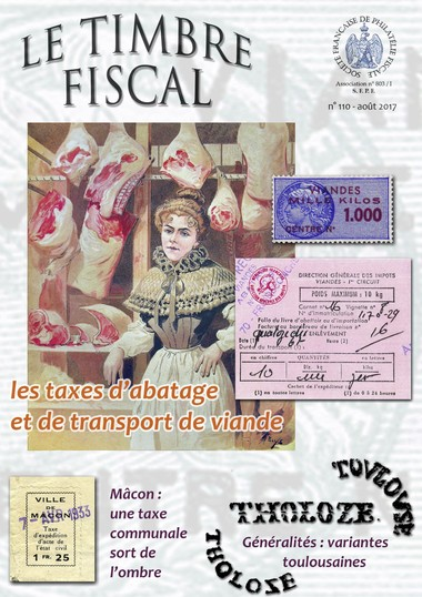 Bulletin Le Timbre Fiscal n°110 Image 1